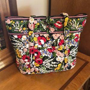 Vera Bradley XL Toggle Tote Bag